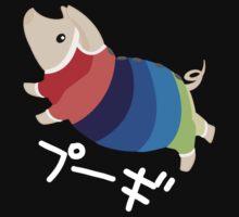 Technicolor Pugi by kinokashi