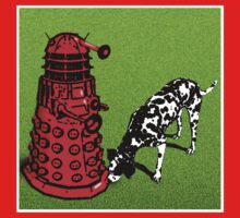 Dalek Signals - T shirt by BlueShift