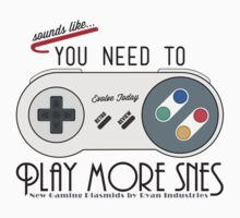 Evolve Today! Play More SNES by RetroReview