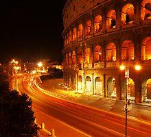 The Colosseum in Modern Day by Ryan Davison Crisp