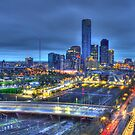 Magnificent Melbourne Skyline by Dean Prowd Panoramic Photography