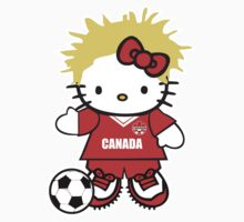 Hello Kitty Canada Soccer by daleos