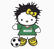 Hello Kitty Mexico Soccer by daleos