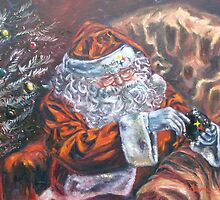 Pittsburgh Steelers Christmas Santa Clause by 1cscheid