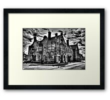 Coach And Horses Framed Print