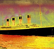 Titanic Colorized by Rick Gold
