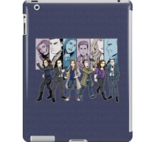 Agents of S.H.I.E.L.D. Line Up iPad Case/Skin