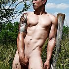 44801 Male Art Nude by PrairieVisions