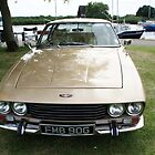 Jensen Interceptor Vintage Car by santoshputhran