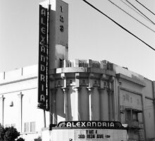 Alexandria Theater by Peter Fedewa