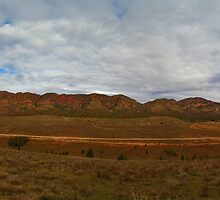 Chace Range, South Australia from Pugilist Hill by Paul Gilbert