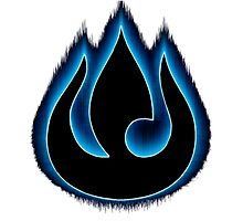 Avatar - Azula's blue flame insignia (Fire nation) by jakking45