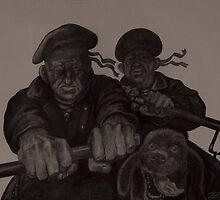 """Sailors""  by Sergei Rukavishnikov by Alenka Co"