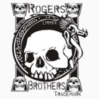 skull tattoo by rogers brothers by usanewyork