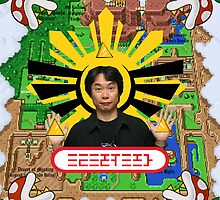 Miyamoto Collage by littlegreenhat