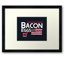With Liberty and Bacon for All Framed Print