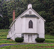 Church Up The Hill by James Brotherton