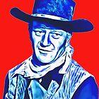 John Wayne in Red River by Art Cinema Gallery