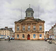 The Town Hall & Market Square at Kelso by Christine Smith