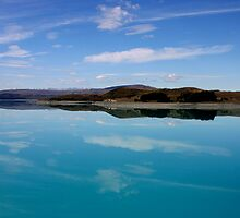 New Zealand Lake by jwwallace