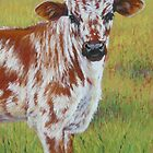 Longhorn Calf by Margaret Stockdale