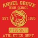 Angel Grove H.S. (Red Ranger Edition) by johnbjwilson