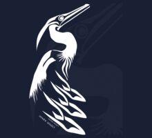 Coast Salish Heron by Mark Gauti