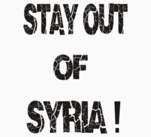 Stay out of syria by sublimy99