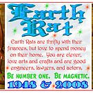 1948 2008 Chinese zodiac born in year of Earth Rat  by Valxart