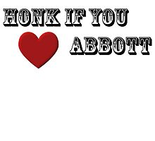 Honk If you Love Abbott by pelegrin
