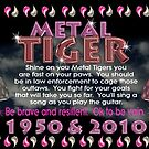 1950 2010 Chinese zodiac born in year of Metal Tiger by valxart.com by Valxart