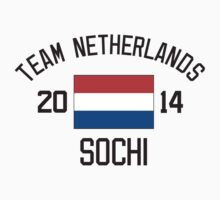 Team Netherlands - Sochi 2014 by monkeybrain