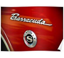Ooooh...Barracuda Poster