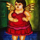 BOTERO ANGEL BY AUGUSTO SANCHEZ by angelsinmyheart