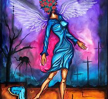 Salvador Dali Angel by Augusto Sanchez by angelsinmyheart