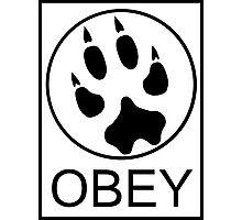 Furry Propaganda : OBEY Photographic Print