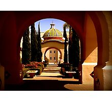 Through Arches Does Sunlight Play Photographic Print
