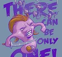 There Can Be Only One by cs3ink