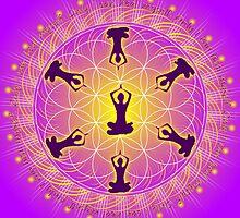 Yoga Mandala by shoffman