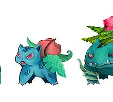 Bulbasaur Family by BonnyJohn