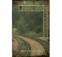 Railroad Track 3 Photographic Print