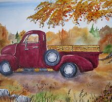 Old Friend (1953 Chevy) by Jeanne Vail