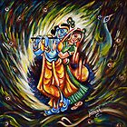 Radha Krishna by Harsh  Malik