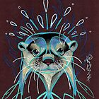 otter totem. by resonanteye