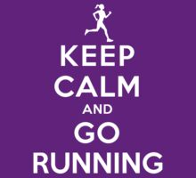 Keep Calm and Go Running (DS/Female) by rachaelroyalty