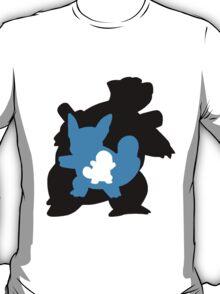 Squirtle - Wartortle - Blastoise Evolution T-Shirt
