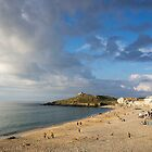 porthmeor beach by Anne Scantlebury