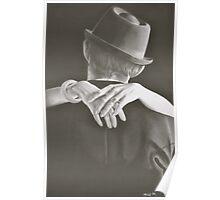 romantic hands Poster