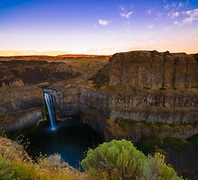 Palouse Falls, Washington by John Klassen