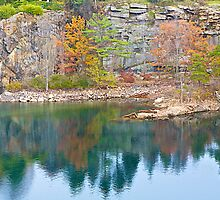Autumn in the Quarry by John Butler